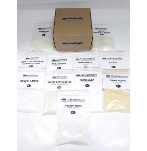 Набор образцов текстур для молекулярной кухни