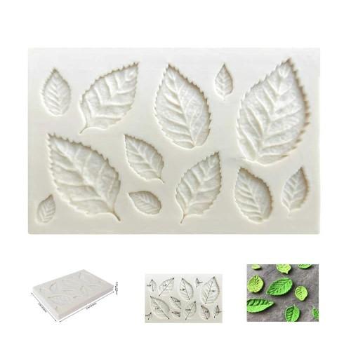 Молд декор листья