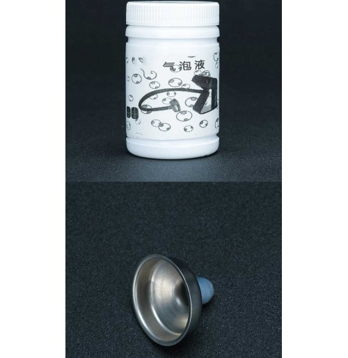 Насадка и жидкость для смокинг гана для создания дымных пузырей