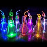 Лампочка для коктейлей светящийся